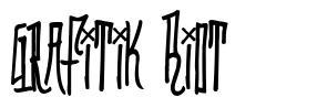 Grafitik Riot font
