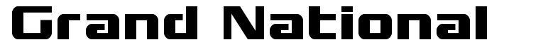 Grand National font