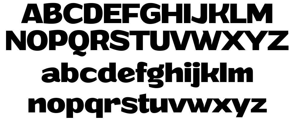 Grandi font