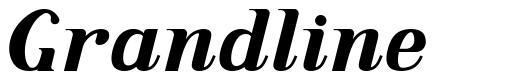 Grandline font