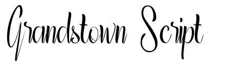 Grandstown Script