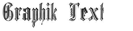 Graphik Text font