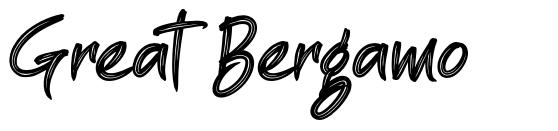 Great Bergamo フォント