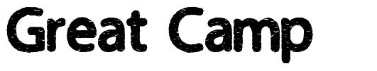 Great Camp font