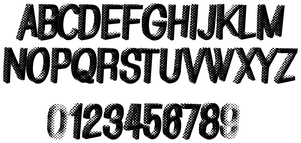 Great Shadow font