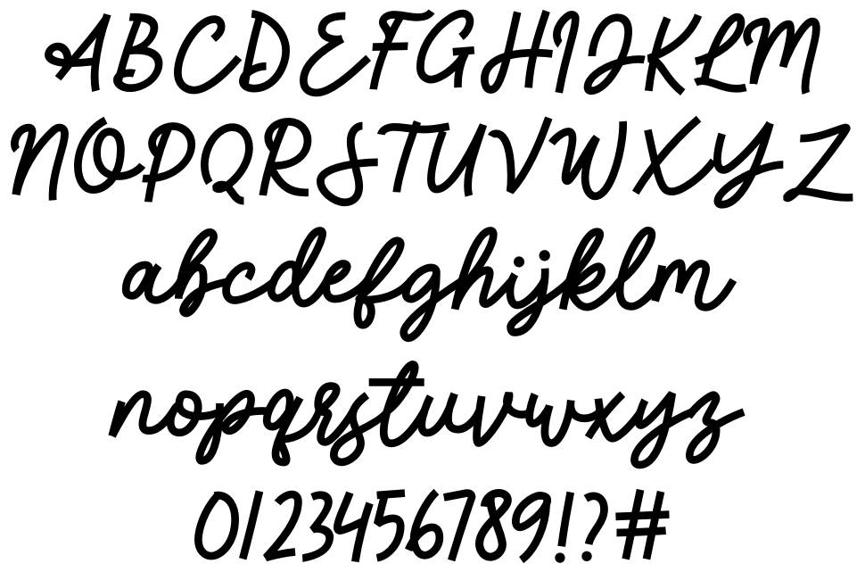 Greatday font