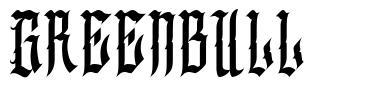 Greenbull フォント