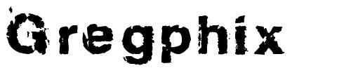 Gregphix font