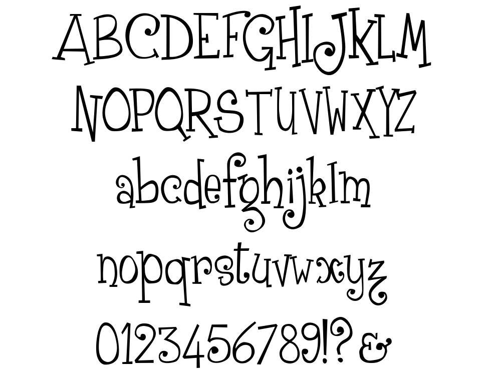 Grenouille font