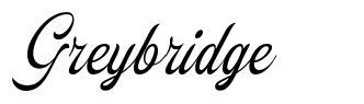 Greybridge 字形
