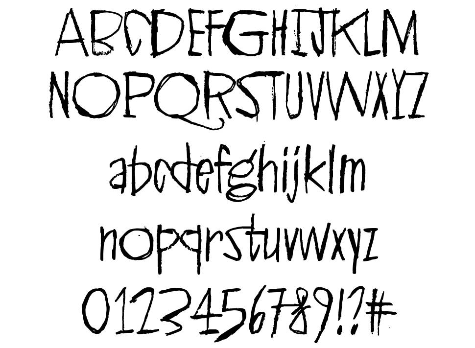 Grey+Red font