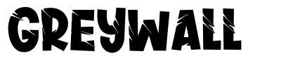 Greywall font