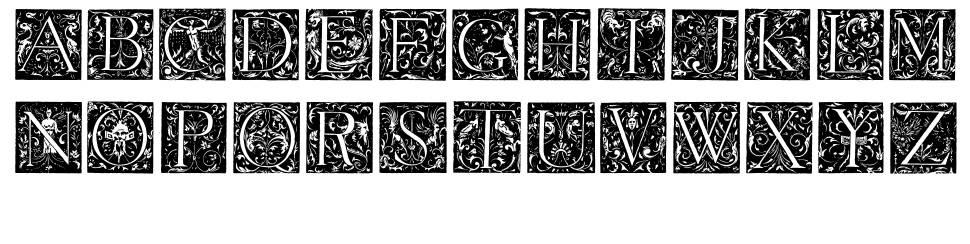 Grimeswade font