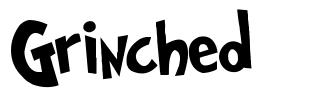 Grinched font