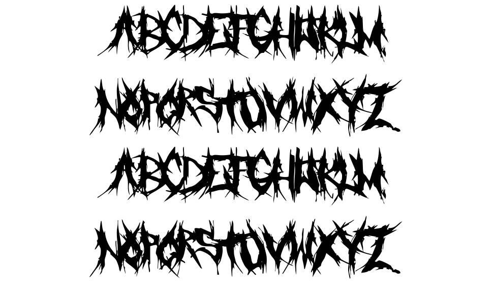 Grind Mafia font