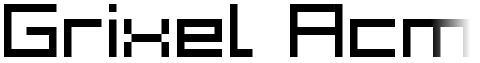 Grixel Acme 7 Wide