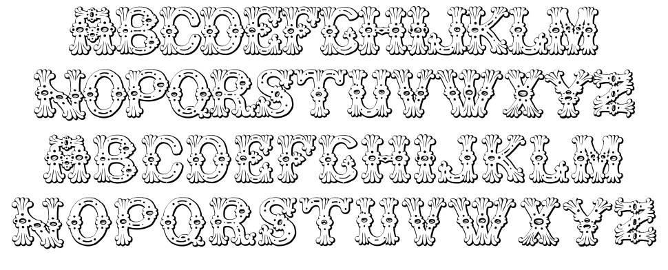Grolier Beveled font