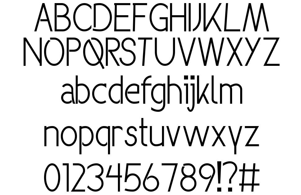 Groove Next font