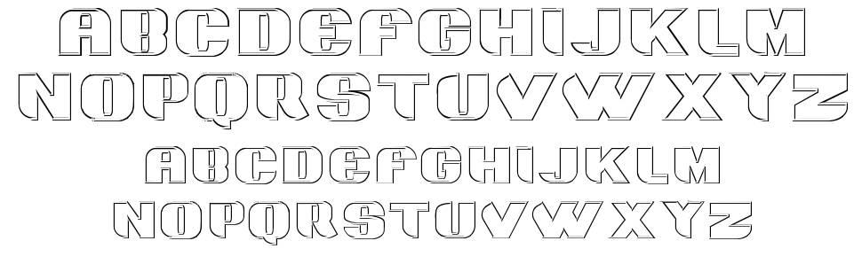 Grotesca 3D font by Intellecta Design - FontRiver