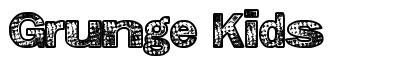Grunge Kids font