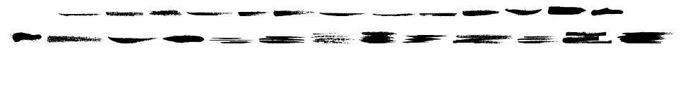Grunge Strokes 01 písmo