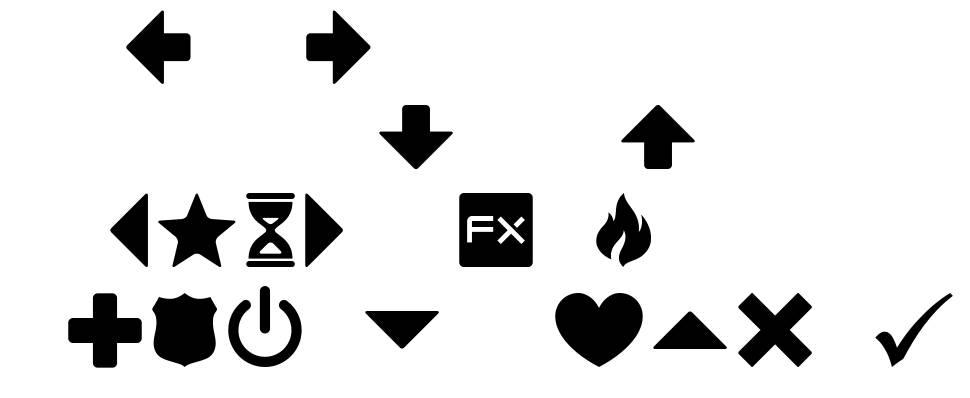 Guifx v2 Transports font