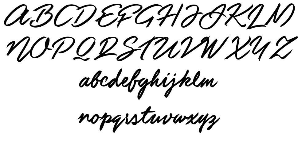 Guld Script フォント