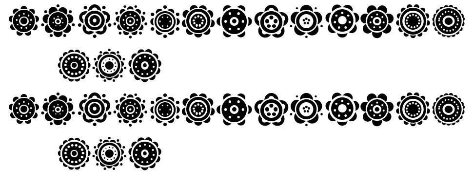 Gullar шрифт
