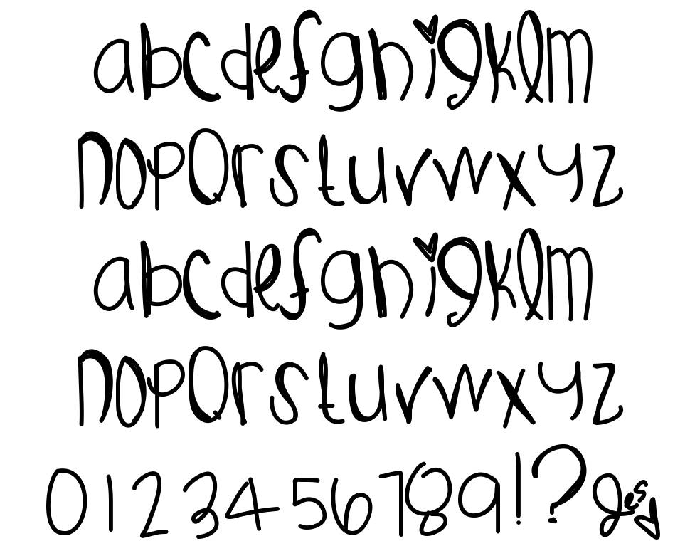 Gust Of Wind font