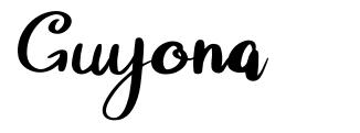 Guyona fonte