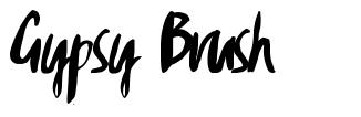 Gypsy Brush font