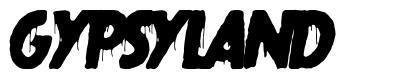 Gypsyland шрифт