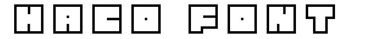 Haco Font