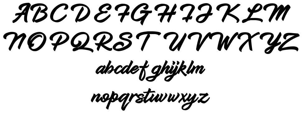 Hadsut Script font