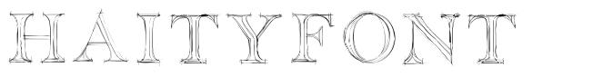 Haityfont font