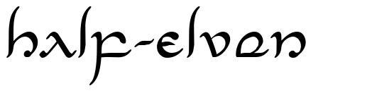 Half-Elven font