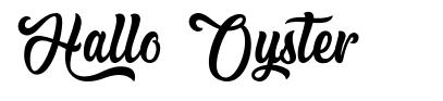 Hallo Oyster