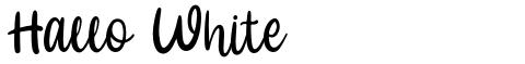 Hallo White