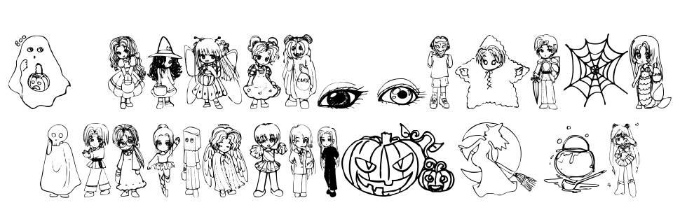 Halloween 2001 font