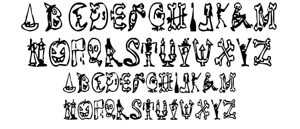 Halloween Happy font