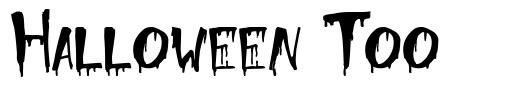 Halloween Too font