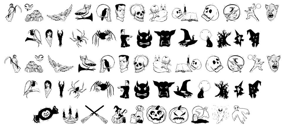 Halloween Two font