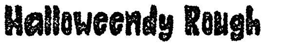 Halloweendy Rough font