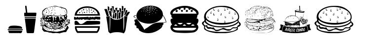 Hamburger fonte