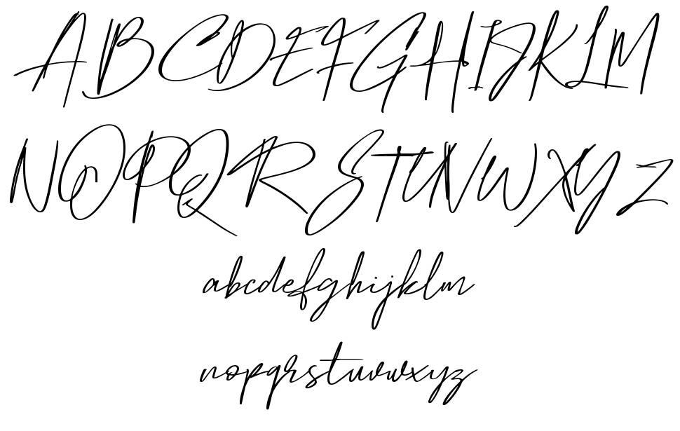 Hamilton 字形