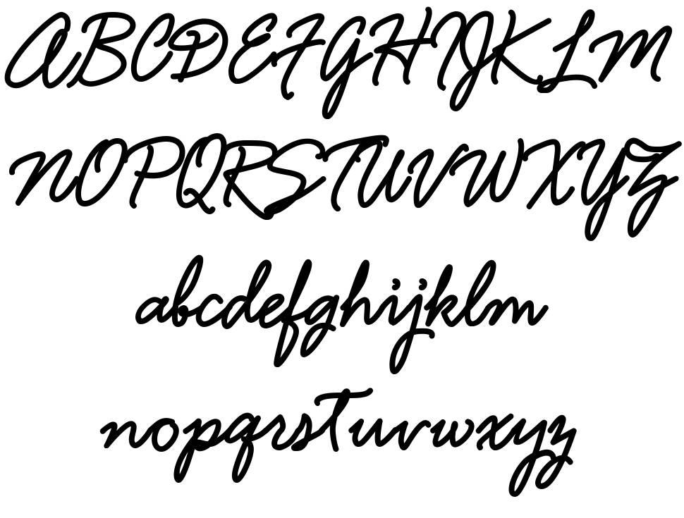Hamline font