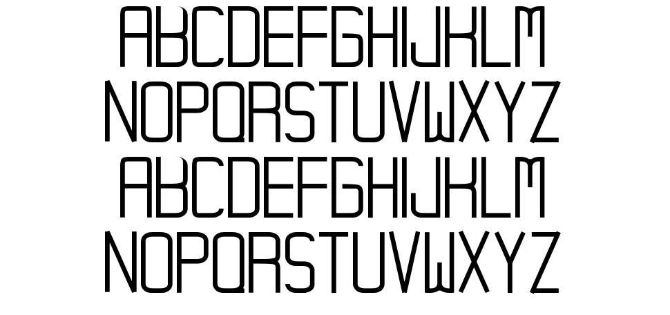 Hampura шрифт