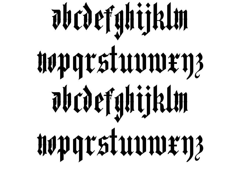 Hand Of Doom font