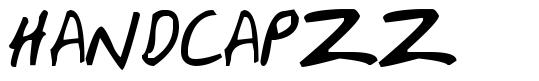 HandCapzz шрифт
