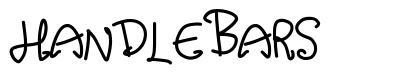 Handlebars font